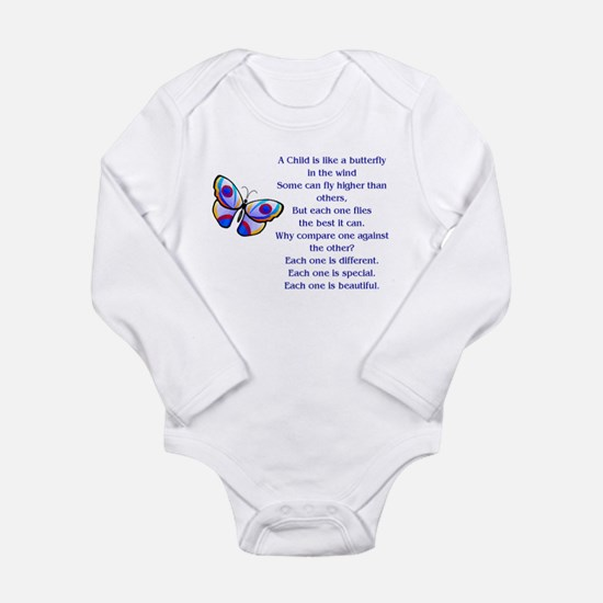 A Child Is Like a Butterfly....Beautiful Body Suit