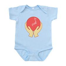 We Support Japan Infant Bodysuit