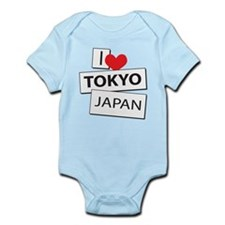 I Love Tokyo Japan Infant Bodysuit