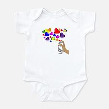 Love Spray Infant Bodysuit