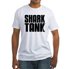 Shark Tank Stack Logo Fitted T-Shirt