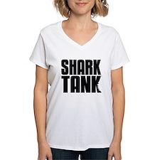 Shark Tank Stack Logo Women's V-Neck T-Shirt