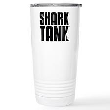 Shark Tank Stack Logo Stainless Steel Travel Mug