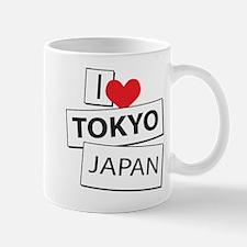 I Love Tokyo Japan Mug