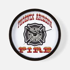 Phoenix Fire Department Wall Clock