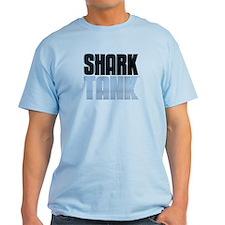 Shark Tank Blue Logo T-Shirt
