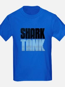 Shark Tank Blue Logo T