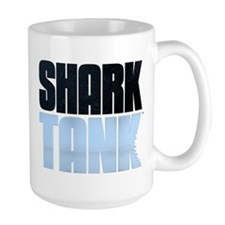 Shark Tank Blue Logo Large Mug