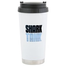 Shark Tank Blue Logo Travel Mug