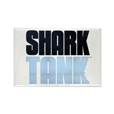 Shark Tank Blue Logo Rectangle Magnet