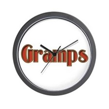GRAMPS IS THE NAME, SPOILINS Wall Clock