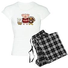 Holiday Dinner Campaign Pajamas