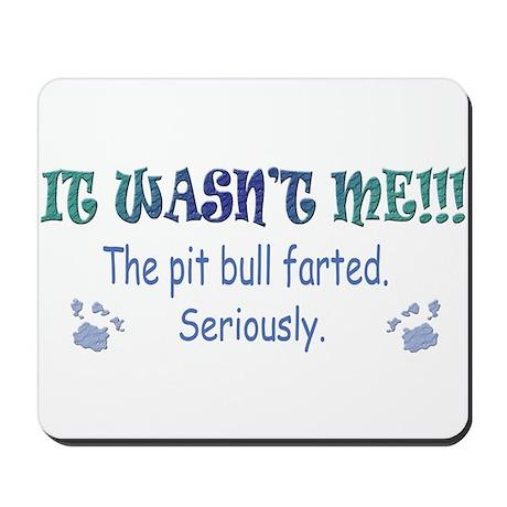 pit bull Mousepad