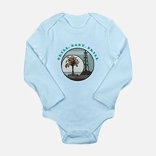 Drill, Baby, Drill Long Sleeve Infant Bodysuit