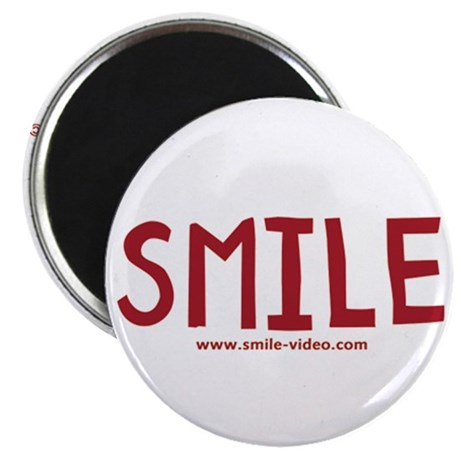 "SMILE! 2.25"" Magnet (10 pack)"