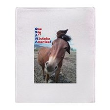 OBAMA - One Big A** Mistake A Throw Blanket