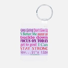 Inspirational Words Keychains