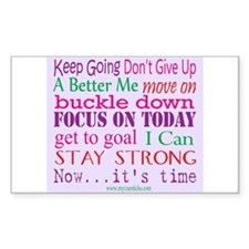 Inspirational Words Decal