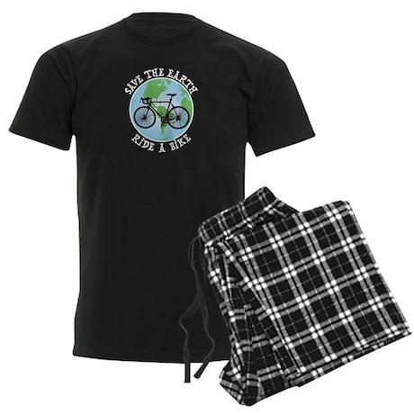 Save Earth Men's Dark Pajamas