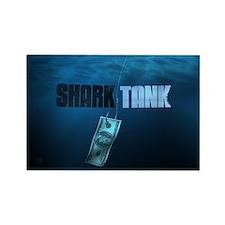 Shark Tank Water Rectangle Magnet