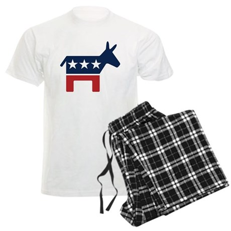 Democrat Donkey Men's Light Pajamas