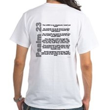 Psalm 23 Shirt With Bible Verse on Back
