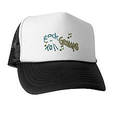 ROCK N ROLL GRAMPS Trucker Hat