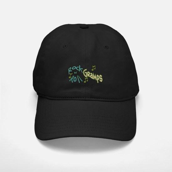 ROCK N ROLL GRAMPS Baseball Hat