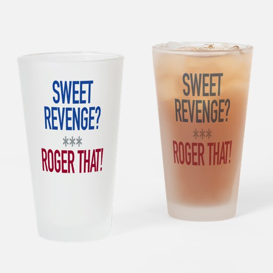 Roger That! Drinking Glass