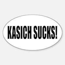 KASICH SUCKS! Decal
