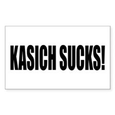 KASICH SUCKS! Decal
