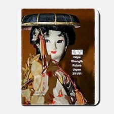 Geisha Doll Mousepad
