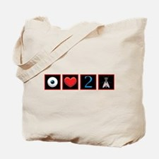 Wtd i love photography Tote Bag