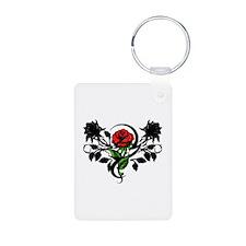 Rose tatoo Keychains