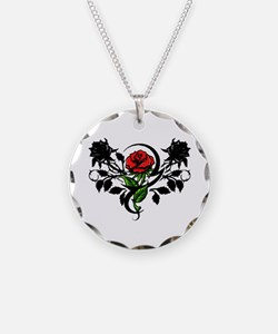 Rose tatoo Necklace