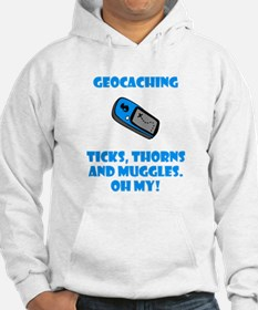 Geocaching Ticks Thorns Muggl Hoodie