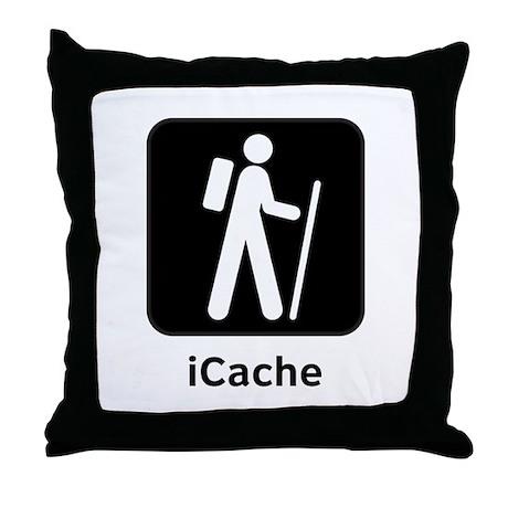 iCache Throw Pillow