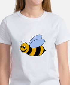 Cartoon Bee Women's T-Shirt