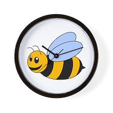 Cartoon Bee Wall Clock