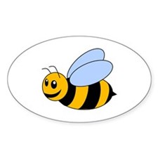 Cartoon Bee Decal