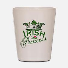 Irish Princess Tiara Shot Glass