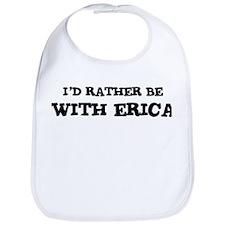 With Erica Bib