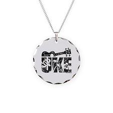 UKE Necklace Circle Charm