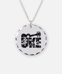 UKE Necklace Circle Charm