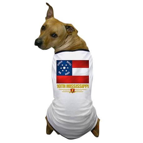 10th Mississippi Infantry Dog T-Shirt