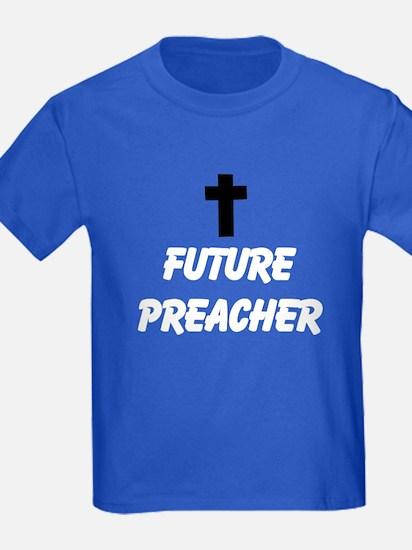 Future Preacher Cross Kids T-Shirt