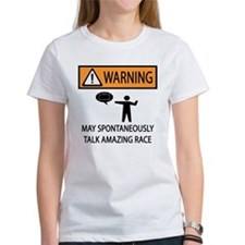 Spontaneously Talk Amazing Race Tee