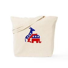 Cute Democrat donkey Tote Bag