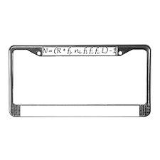 Drake Equation -1 License Plate Frame