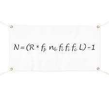 Drake Equation -1 Banner